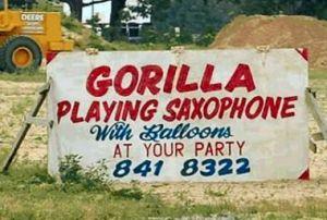 gorillasax